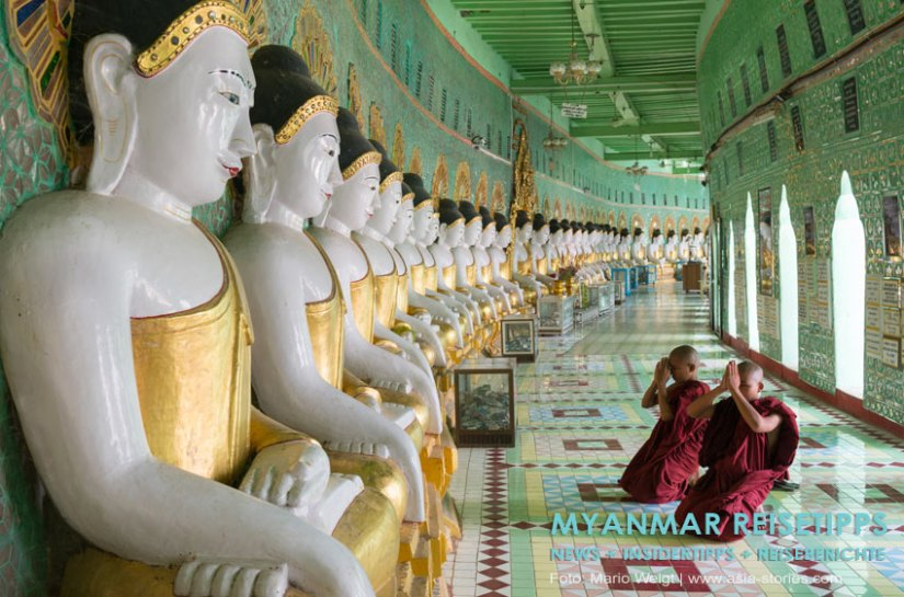 Myanmar Reisetipps | Umgebung von Mandalay | Sagaing