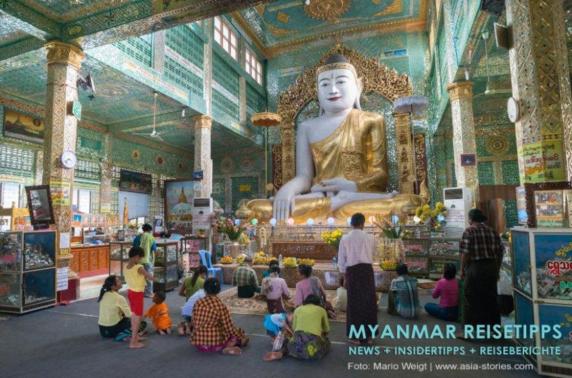 Myanmar Reisetipps   Umgebung von Mandalay   Sagaing Hill