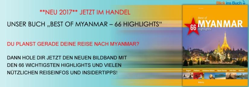 Bildband Best of Myanmar - 66 Highlights