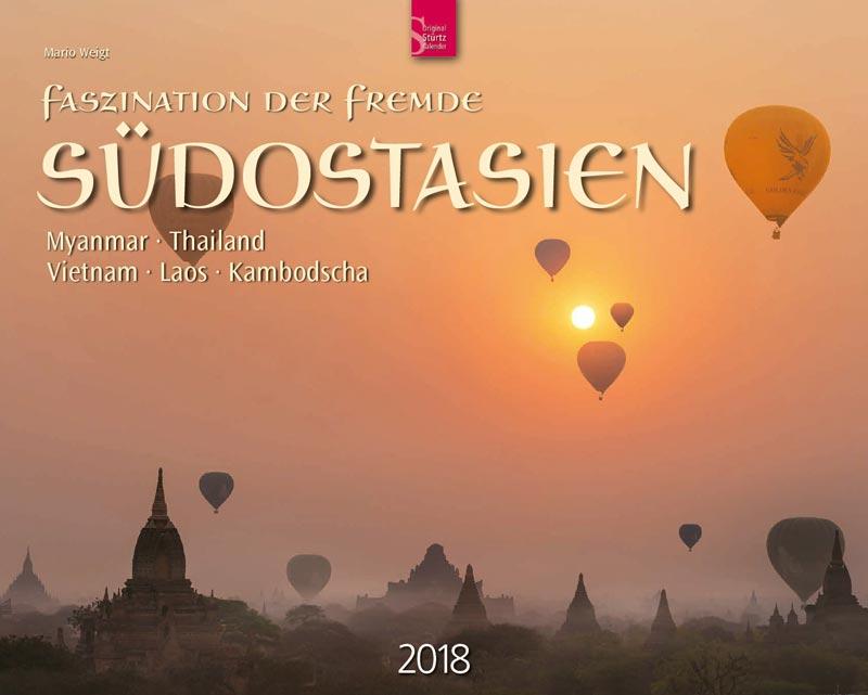 Wandkalender 2018 SÜDOSTASIEN