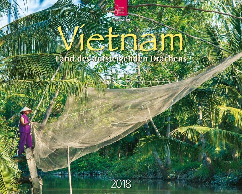 Wandkalender 2018 VIETNAM (60 x 48 cm)