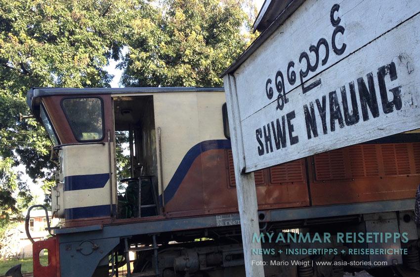 Myanmar Reisetipps | Mit der Bahn vom Inle-See nach Kalaw