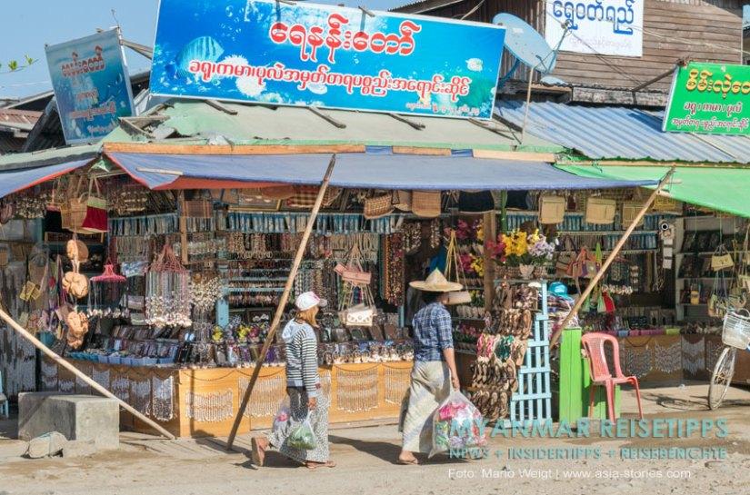 Myanmar Reisetipps | Chaungtha Beach | Einkaufen in Chaungtha
