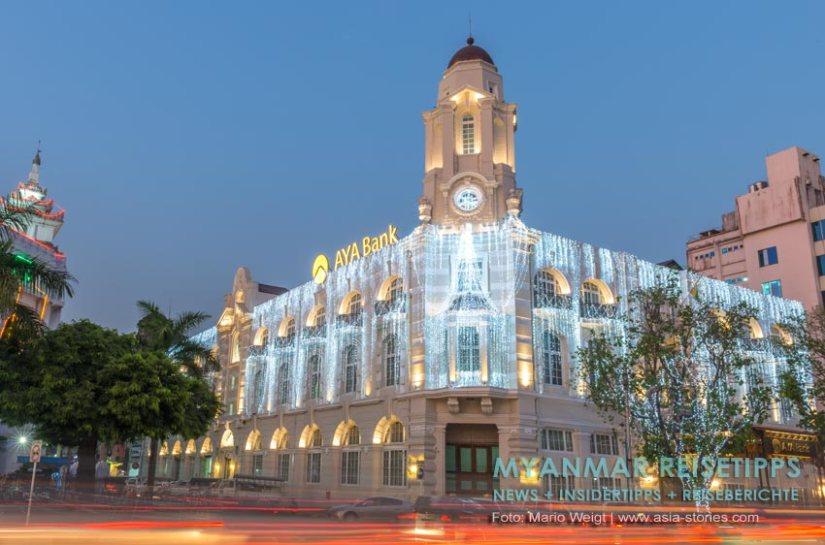 Myanmar Reisetipps | Alles rund ums Geld: AYA Bank