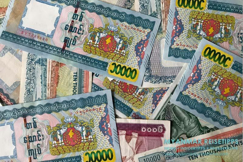 Myanmar Reisetipps | Rund ums Geld