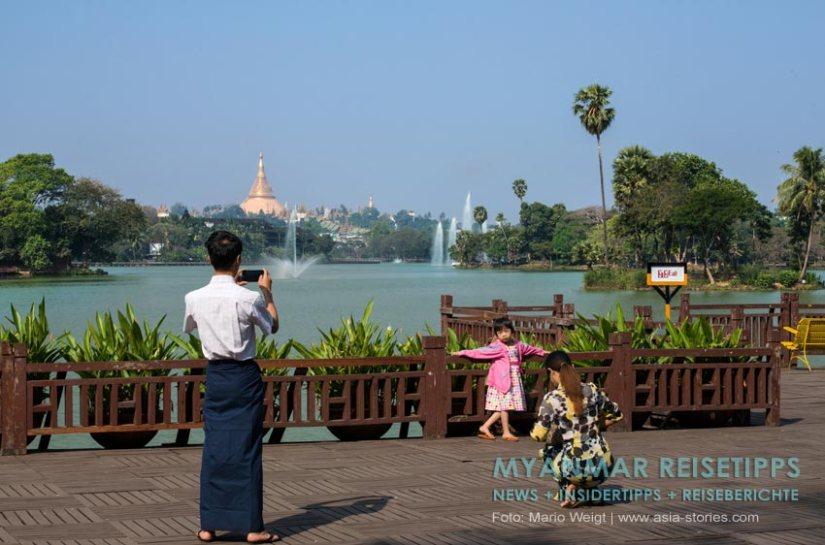 Myanmar Reisetipps | Yangon | Kandawgyi-Park