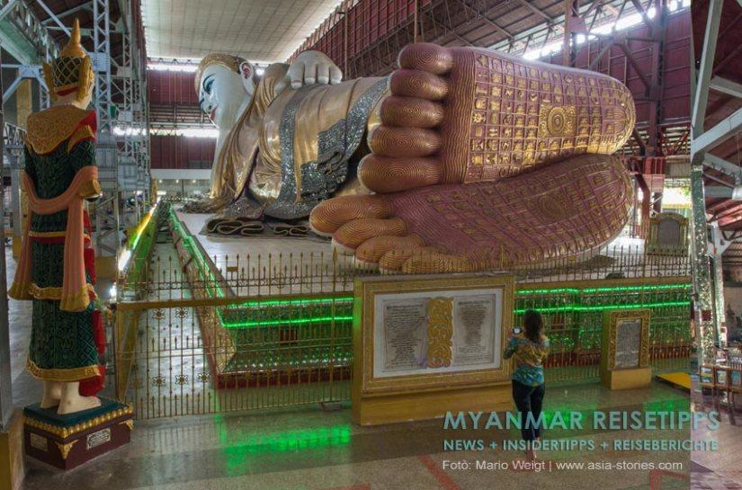 Myanmar Reisetipps | Yangon | Pagode Chauk Htat Gyi