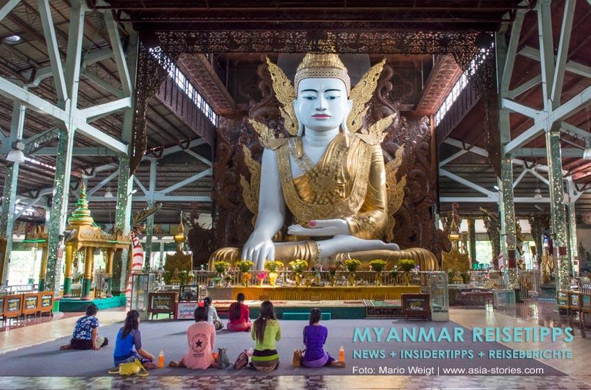 Myanmar Reisetipps | Yangon | Pagode Nga Htat Gyi