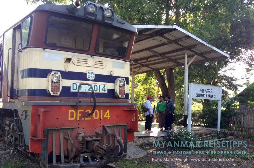 Myanmar Reisetipps | Mit der Bahn vom Inle-See nach KalawMyanmar Reisetipps | Mit der Bahn vom Inle-See nach Kalaw