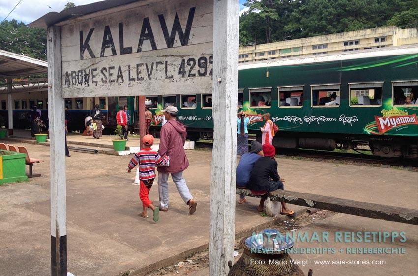 Myanmar Reisetipps | Mit der Bahn vom Inle-See (Shwe Nyaung) nach Kalaw
