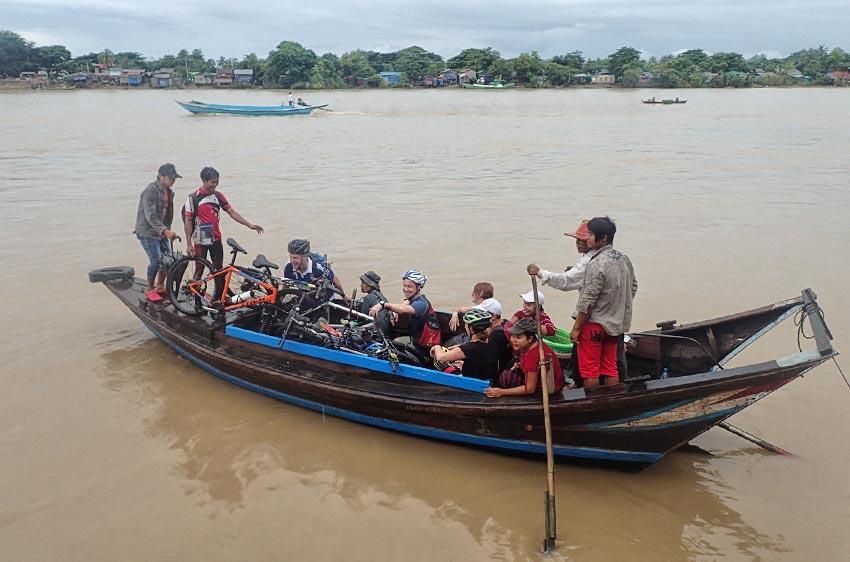 Myanmar - Mit dem Fahrrad durch Yangon und Umgebung