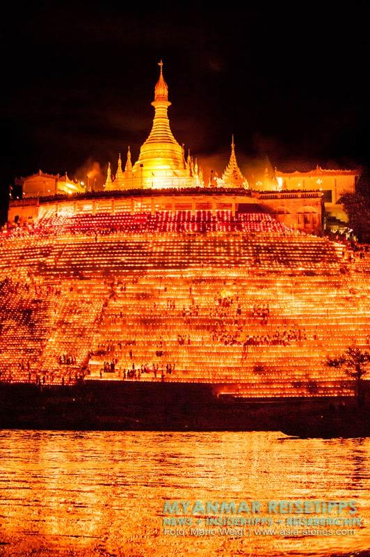 Myanmar Reisetipps | Magwe | Zum Lichterfest Thadingyut in Magwe.