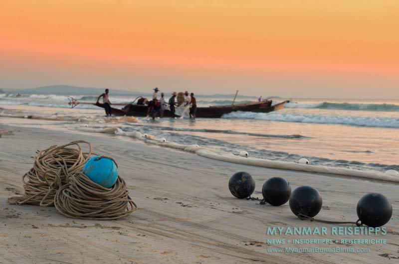 Myanmar Reisetipps   Ngapali Beach