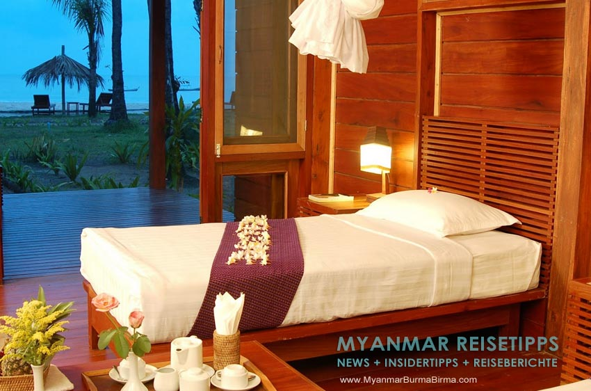 Myanmar Reisetipps | Ngapali Beach | Pleasant View Resort