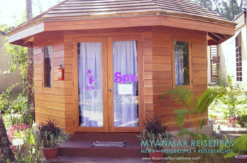 Myanmar Reisetipps | Ngapali Beach | Spa vom Pleasant View Resort