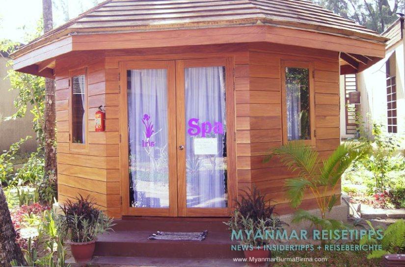 Myanmar Reisetipps   Ngapali Beach   Spa vom Pleasant View Resort