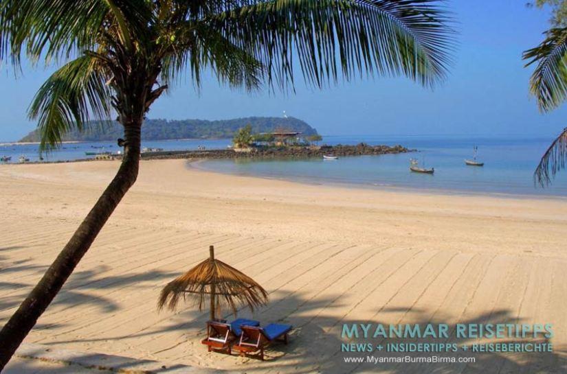 Myanmar Reisetipps   Ngapali Beach   Ausblick vom Pleasant View Resort