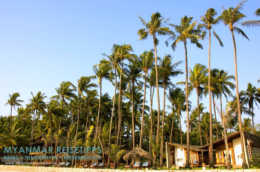 Myanmar Reisetipps | Ngapali Beach | Beachfront vom Pleasant View Resort