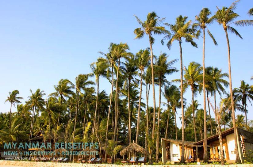 Myanmar Reisetipps   Ngapali Beach   Beachfront vom Pleasant View Resort