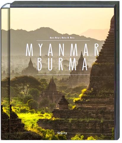 Premium Bildband MYANMAR im Hartschuber