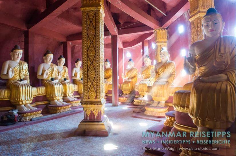Tempelkomplex Ko Yin Lay, auch unter Banana Mountain bekannt