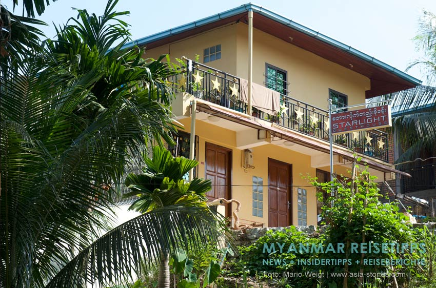 Myanmar Reisetipps | Ye und die Umgebung | Starlight Guesthouse