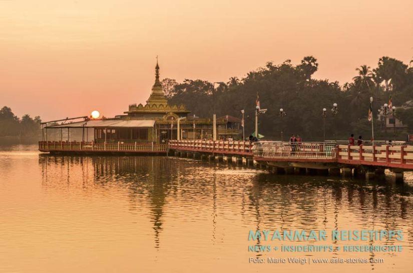 Myanmar Reisetipps | Ye und die Umgebung | Sonnenuntergang