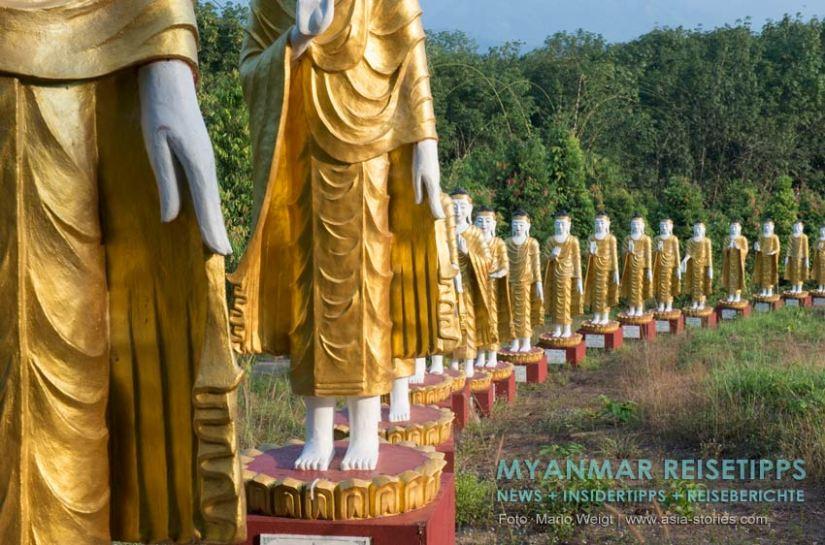 Myanmar Reisetipps | Stadt Ye und die Umgebung | Meditationszentrum