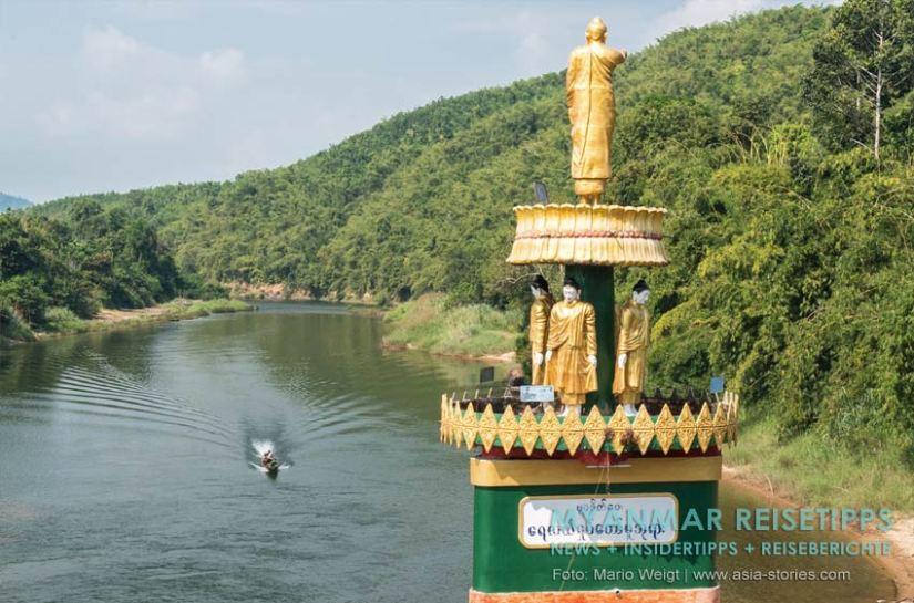 Myanmar Reisetipps | Stadt Ye und die Umgebung | Ausflug auf dem Ye-Fluss