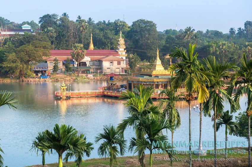 Myanmar Reisetipps | Stadt Ye | Ausblick vom Htet Htet Guest House 2
