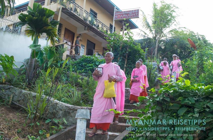 Myanmar Reisetipps | Ye und die Umgebung | Starlight Guesthouse in Ye