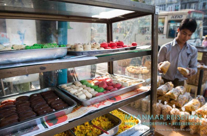 Myanmar Reisetipps | Vegetarischen Essen | Indische Süßigkeiten