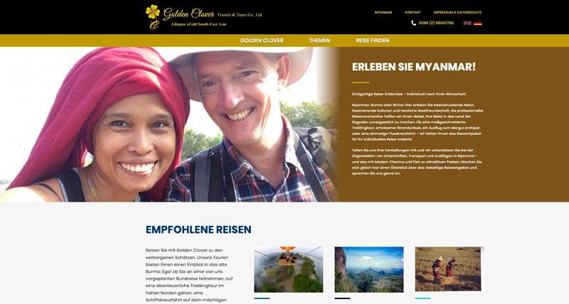 Startseite von Golden Clover Travel