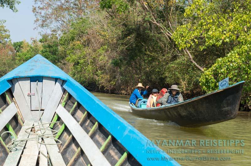 Myanmar Reisetipps | Inle-See und Indein | Bootstour auf dem See