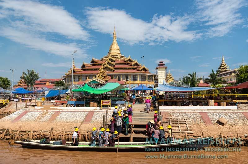 Myanmar Reisetipps | Inle-See und Indein | Phaung-Daw-U-Pagode
