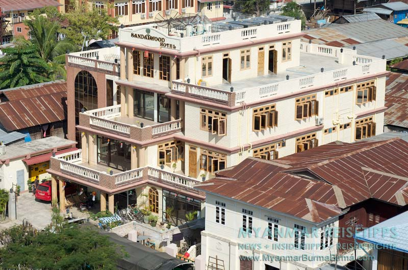 Myanmar Reisetipps | Inle-See und Indein | Sandalwood Hotel in Nyaungshwe