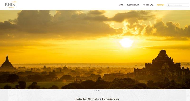 Startseite von Khiri Travel