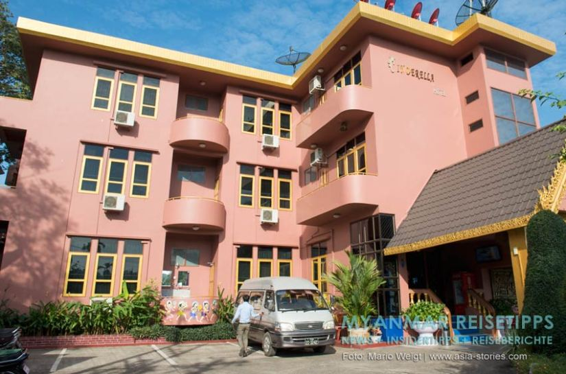 Myanmar Reisetipps   Mawlamyaing (Mawlamyine)   Cinderella Hotel