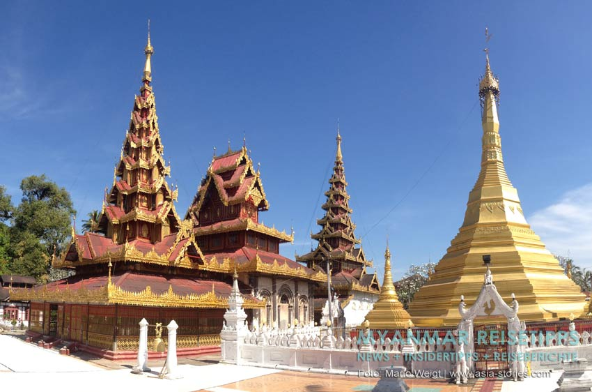 Myanmar Reisetipps | Mawlamyaing (Mawlamyine) | Holzkloster U Nar Aunk