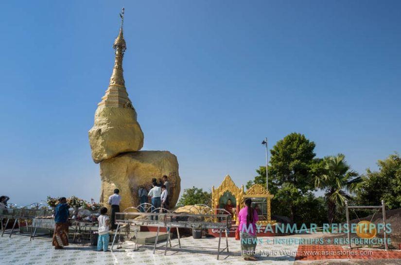 Myanmar Reisetipps   Mawlamyaing (Mawlamyine)   Dorf Kyone Ka und die Nwa-La-Bo-Pagode