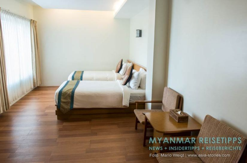 Myanmar Reisetipps   Mawlamyaing (Mawlamyine)   Ngwe Moe Hotel