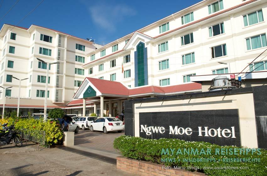 Myanmar Reisetipps | Mawlamyaing (Mawlamyine) | Ngwe Moe Hotel