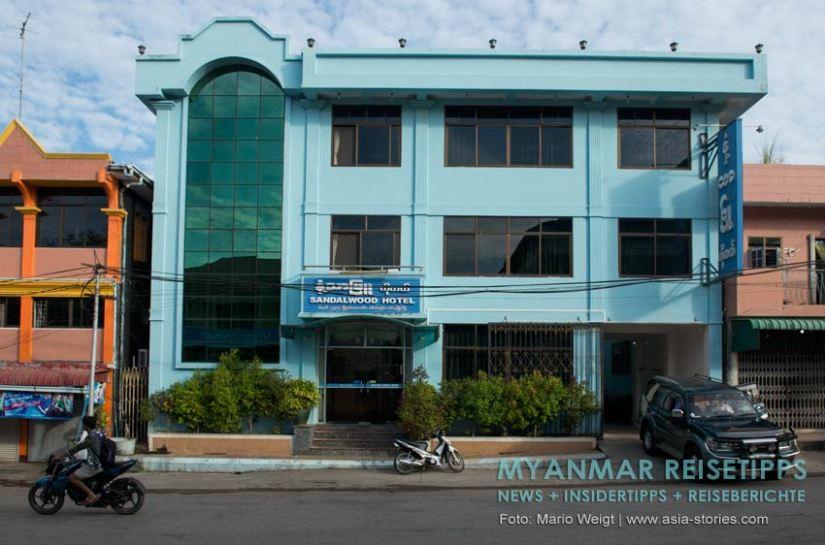 Myanmar Reisetipps   Mawlamyaing (Mawlamyine)   Sandalwood Hotel