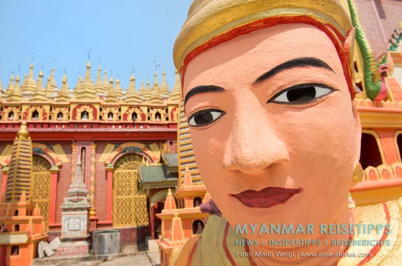 Myanmar Reisetipps | nahe Monywa | Thanboddhay-Pagode