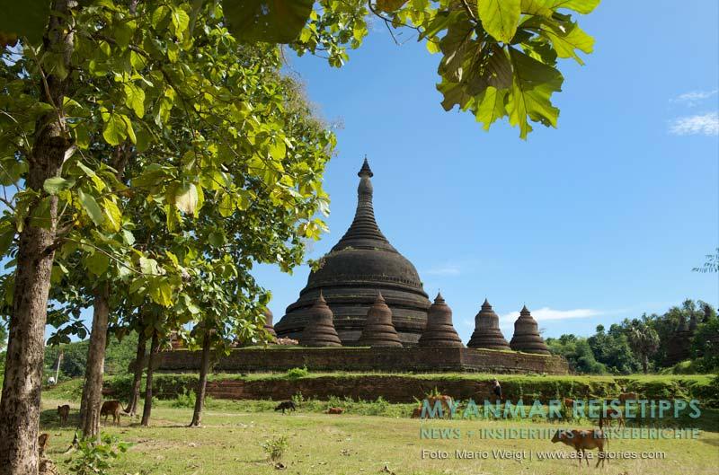 Myanmar Reisetipps | Mrauk U | Tempel Ratanabon