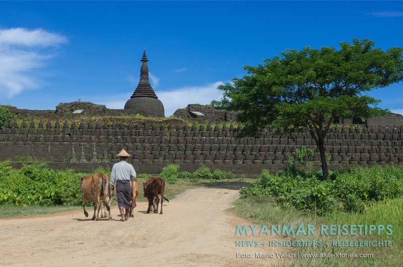 Myanmar Reisetipps | Mrauk U | Kothaung-Tempel (Tempel der 90.000 Buddhas)