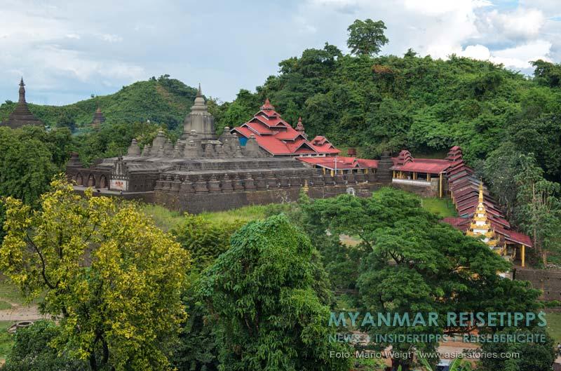 Myanmar Reisetipps | Mrauk U | Shitthaung-Tempel (80.000 Buddhas)