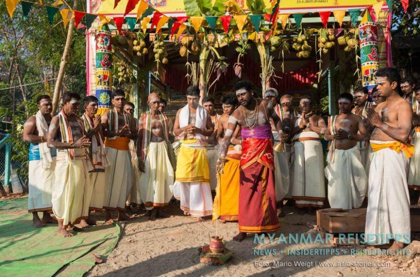 Myanmar Reisetipps   Mawlamyaing (Mawlamyine)   Indisches Fest