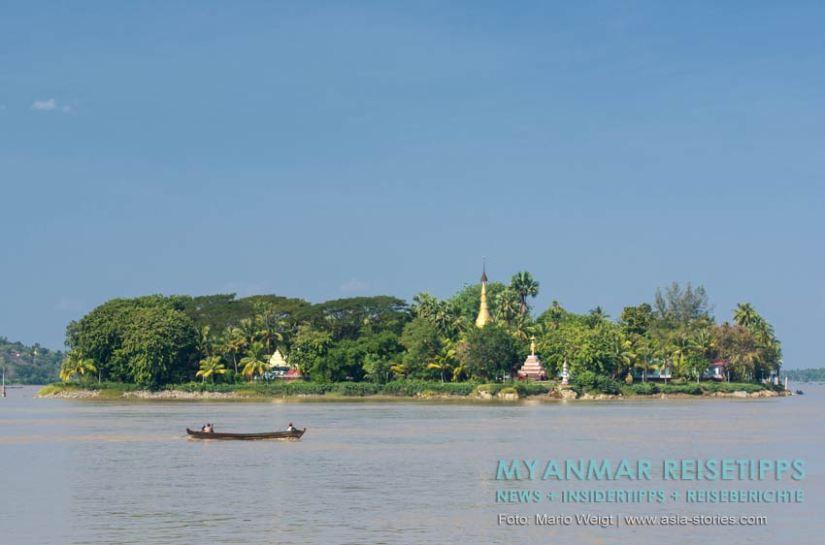 Myanmar Reisetipps   Mawlamyaing (Mawlamyine)   Shampoo Island