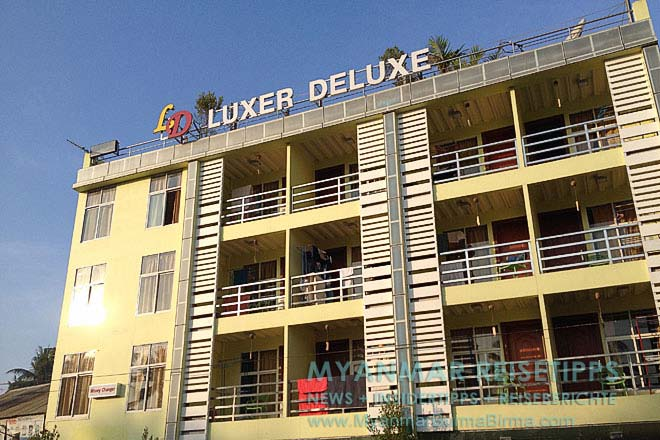 Myanmar Reisetipps   Ngwe Saung Beach (Silberstrand)   Hotel Luxer Deluxe im Ort Nwge Saung